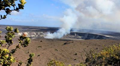 Вулкан Килауэа фото