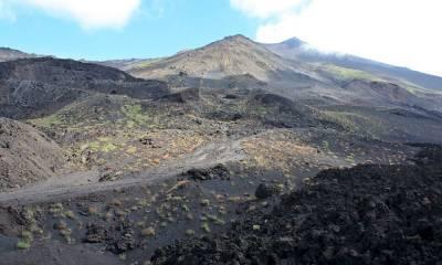 географические координаты вулкана Этна