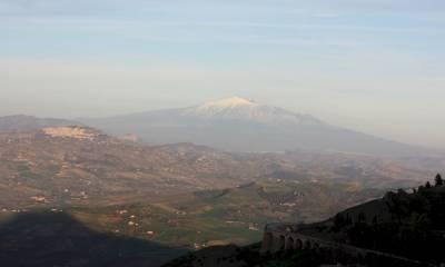 вулкан Этна последнее