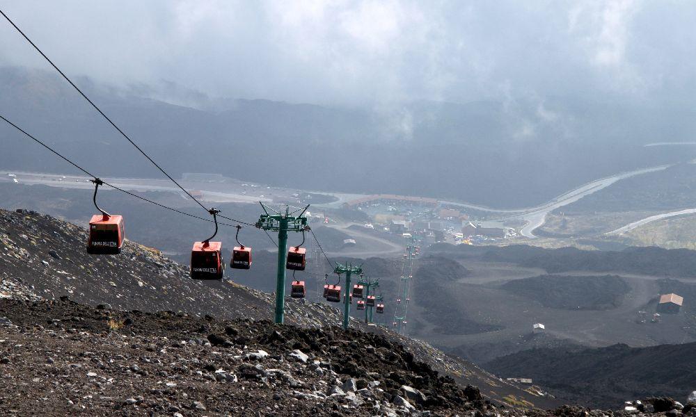 Вулкан Этна фото