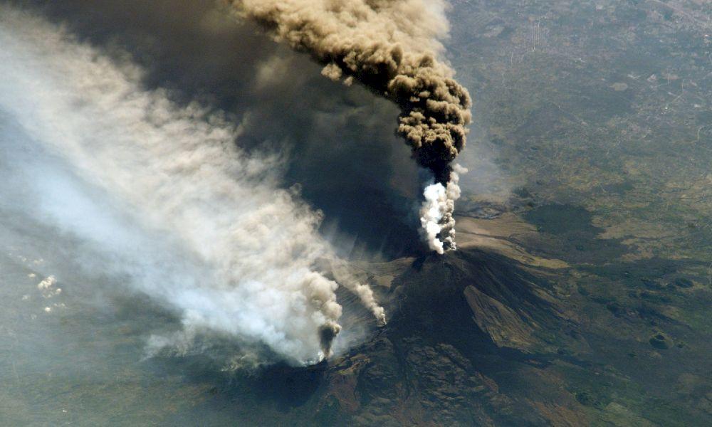 Сицилия вулкан Этна