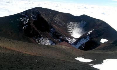 Этна вулкан активность