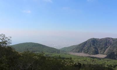 Вулкан Везувий на карте