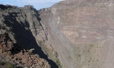 Вулкан Везувий координаты