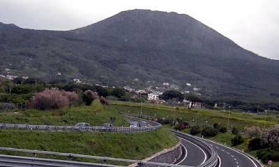 Вулкан Везувий Италия