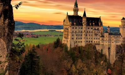 замок Нойшванштайн как добраться из Мюнхена