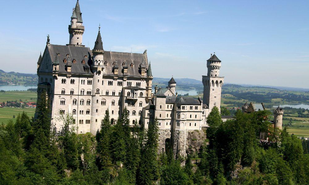 Мюнхен замок Нойшванштайн